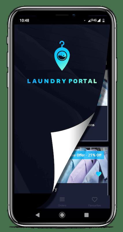 Laundry Portal Application